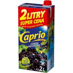 CAPRIO  CZARNA PORZECZKA 2L