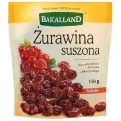 BAKALLAND ŻURAWINA SUSZONA...
