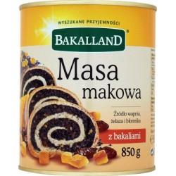 BAKALLAND MASA MAKOWA 850G...