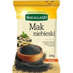 BAKALAND MAK NIEBIESKI 250G