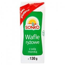 SONKO WAFLE RYŻOWE 130G Z...