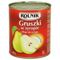 ROLNIK GRUSZKI W SYROPIE...