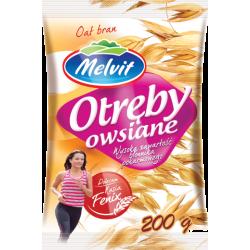 OTRĘBY OWSIANE 200G MELVIT *10