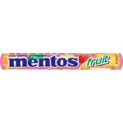 MENTOS DROPS FRUIT 38G