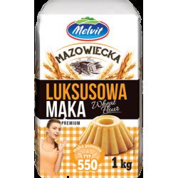 MELVIT MĄKA LUKSUSOWA 1KG T550