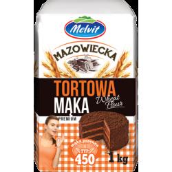 MELVIT MĄKA TORTOWA 1KG T450