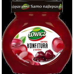 ŁOWICZ KONFITURA WIŚNIOWA 240G