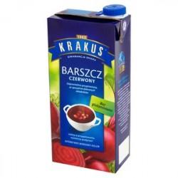 KRAKUS BARSZCZ CZERWONY 1L