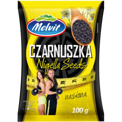 MELVIT CZARNUSZKA NASIONA 100G
