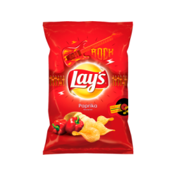 LAYS CHIPS PAPRIKA 140G