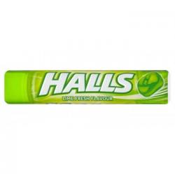 HALLS LIME FRESH FLAVOUR 33,5G