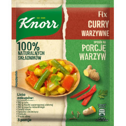 KNORR FIX CURRY WARZYWNE 47G