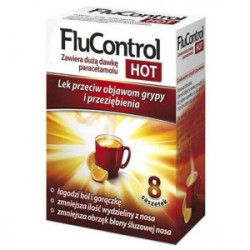 FLUCONTROL HOT SMAK POMARAŃCZY