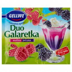 GELLWE GALARETKA DUO MALINA...