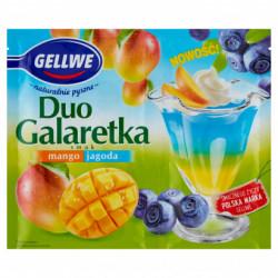 GELLWE GALARETKA DUO MANGO...